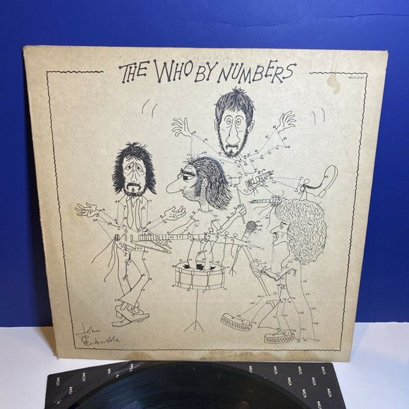 Other - The Who: By Numbers MCA-2161 LP Vinyl